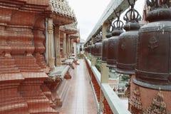 Thai temple, Wat Tam Sua,. Thailand, Western of Thailand, Kanchanaburi Royalty Free Stock Photos