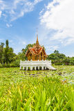 Thai temple on the water Stock Photography