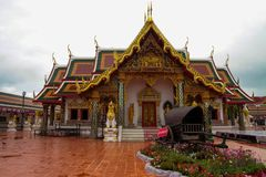 Thai temple at Royalty Free Stock Photo