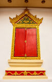 Thai temple window Stock Images