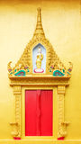 Thai Temple Window Stock Image