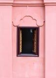 Thai temple window. Stock Photos