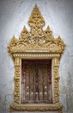 Thai Temple Window Royalty Free Stock Images