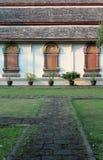 Thai temple window Stock Photography