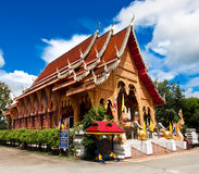 Thai temple1 stock photography