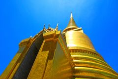 Thai temples, Wat Phra Kaew Stock Photo