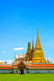 Thai temples, Wat Phra Kaew Stock Photos