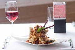 Thai Tempura Shrimp Skewers Royalty Free Stock Photo