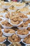 Thai Tempura Shrimp Skewers Stock Image