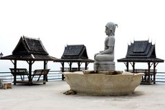 Thai terrace Royalty Free Stock Images