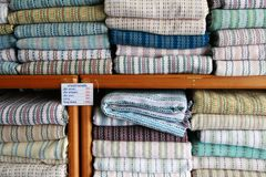 Thai Textiles Stock Image