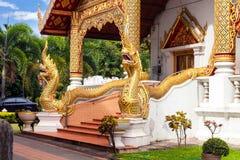 Thai Thailand för Buddhawat tempel Arkivbilder
