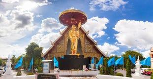Thai Thailand för Buddhawat tempel Arkivfoto