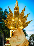 Thai Thailand för Buddhawat tempel Arkivbild