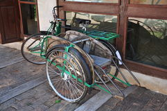 Thai three wheels vehicle Royalty Free Stock Image