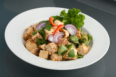 Thai Tofu Dish Stock Photo