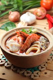Thai tom yam gong Royalty Free Stock Photo