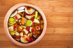 Thai Tom Yam soup Stock Images