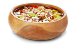 Thai Tom Yam soup Stock Photo