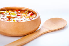 Thai Tom Yam soup Stock Image