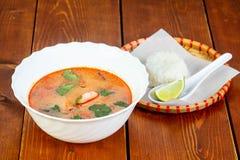 Thai Tom Yam soup Stock Photography