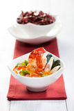 Thai Tom Yum Soup Royalty Free Stock Photo