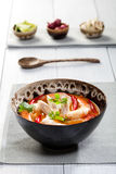 Thai Tom Yum Soup Stock Photo
