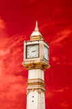 The Thai tower clock Stock Photo
