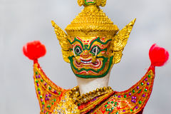 Thai Traditinal Puppet Royalty Free Stock Image