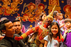 Thai Traditinal Puppet Royalty Free Stock Photography