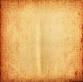 Thai tradition old paper for text and background Royalty Free Stock Images