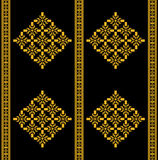 Thai Tradition Seamless Pattern Style Stock Images