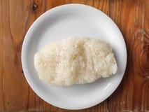 Thai tradition sticky rice. Stock Photos