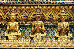 Thai traditional angle in Wat Phra Kaew Temple Stock Photo