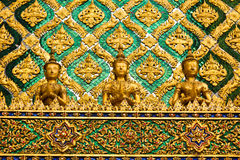 Thai traditional angle in Wat Phra Kaew Temple Royalty Free Stock Photo