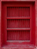 Thai traditional antique door. Royalty Free Stock Photos