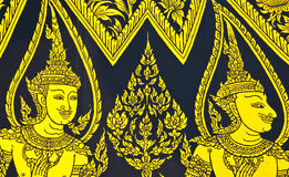 Thai traditional art. Royalty Free Stock Photography