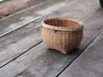 Thai traditional basket Royalty Free Stock Photos