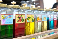 Thai Traditional Carbonated Drink Stock Photo