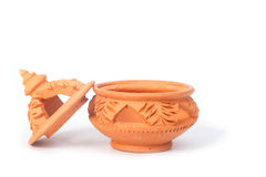 Thai traditional clay pottery Royalty Free Stock Photo