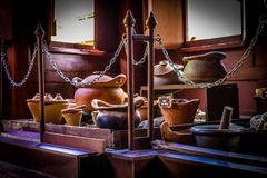 Thai traditional cookware 2 royalty free stock photo