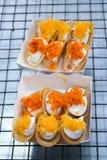 Thai traditional crispy pancake Stock Photo