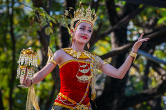 Thai Traditional Culture Festival Royalty Free Stock Images