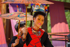 Thai Traditional Culture Festival Stock Image