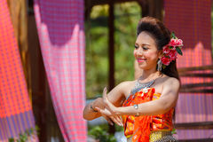 Thai Traditional Culture Festival Royalty Free Stock Image