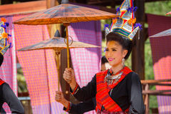 Thai Traditional Culture Festival Stock Images