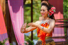 Thai Traditional Culture Festival Royalty Free Stock Photos