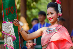 Thai Traditional Culture Festival Royalty Free Stock Photography