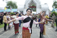 Thai traditional dance Royalty Free Stock Photos
