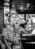 Thai Traditional Dance Royalty Free Stock Photography